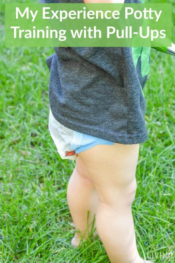 My Experience Potty Training with Pull-Ups