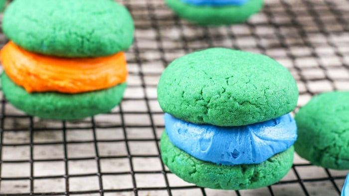 Teenage Mutant Ninja Turtle Whoopie Pies step11