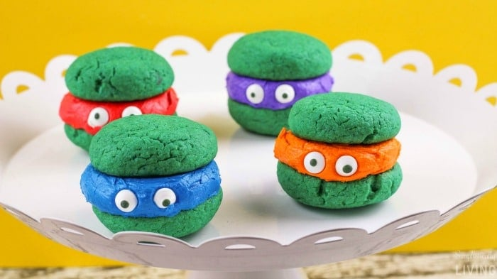 Teenage Mutant Ninja Turtle Whoopie Pies2