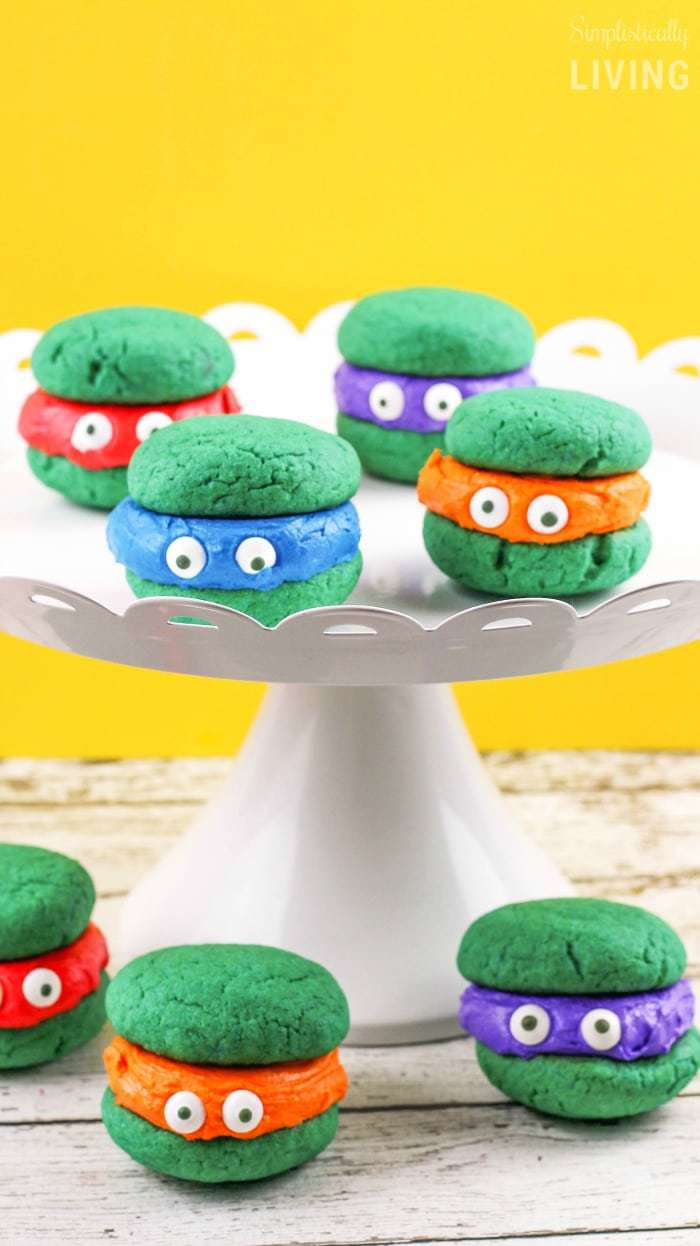 Teenage Mutant Ninja Turtle Whoopie Pies3