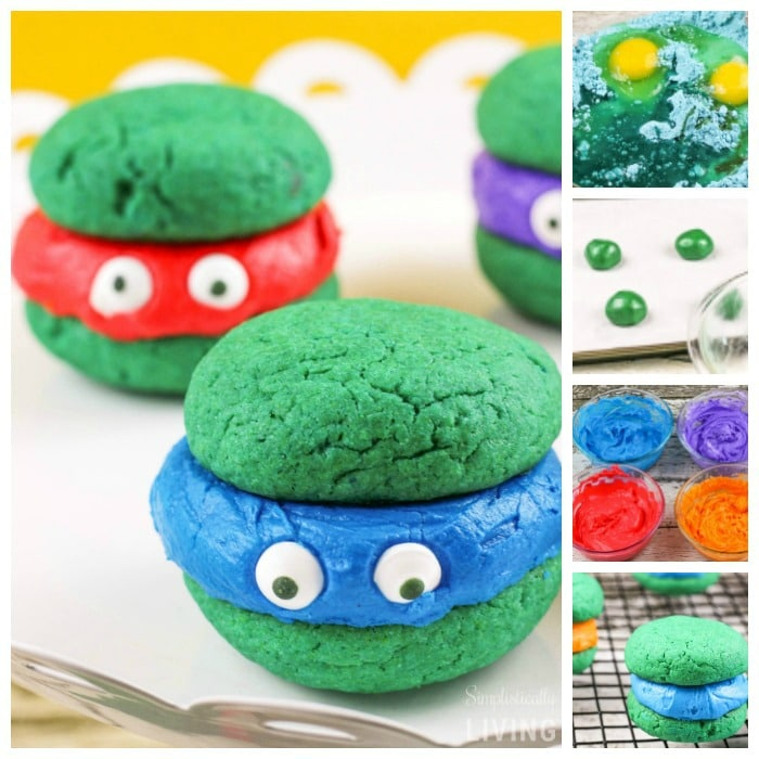 Teenage Mutant Ninja Turtles Whoopie Pies Square