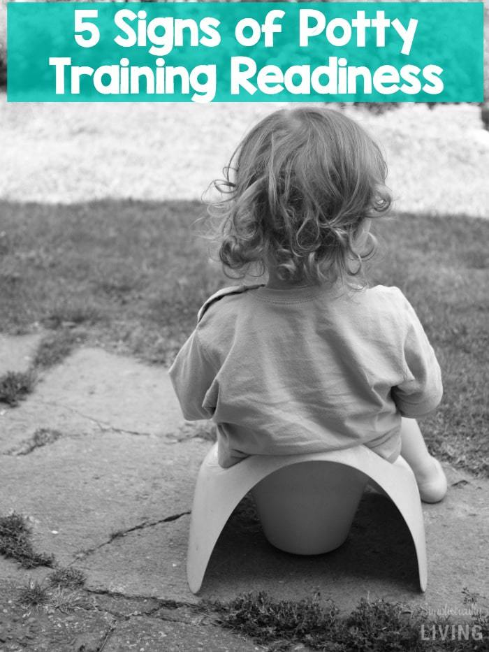 Time to Ditch The Diapers 5 Signs of Potty Training Readiness