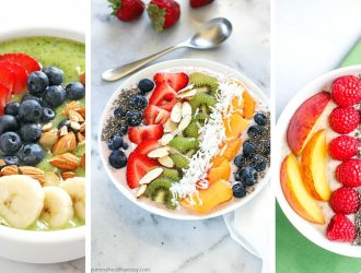 30+ Healthy Smoothie Bowl Recipes