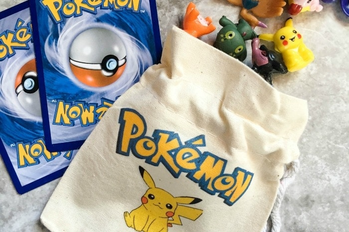 DIY Custom Pokemon Party Favor Bags Featured