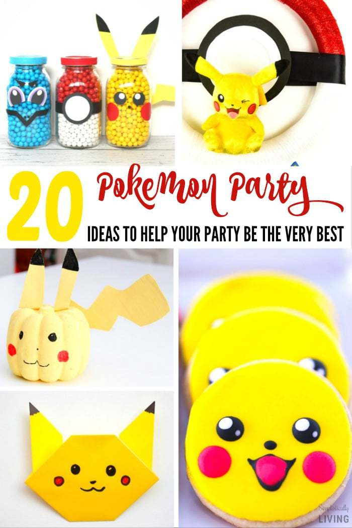 20 Pokemon Party Ideas To Help You Catch 'Em All