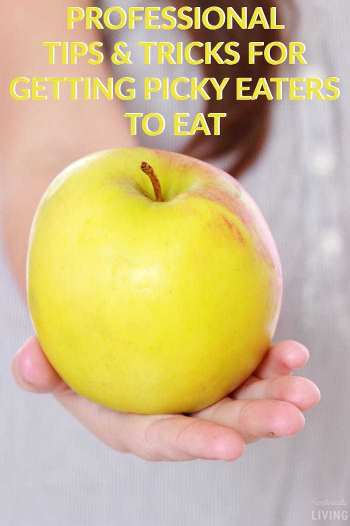 Professional Tips & Tricks for Getting Picky Eaters To Eat