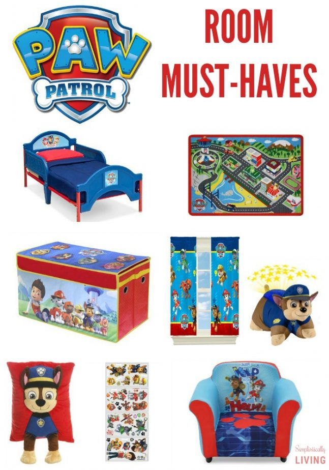 Paw Patrol Room Must-Haves