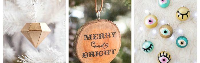 20 Creative Homemade Christmas Ornaments