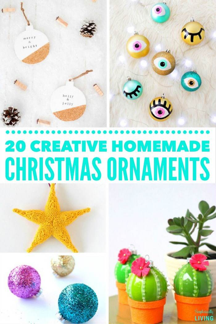 creative homemade christmas decorations. Fine Creative 20 Creative Homemade Christmas Ornaments On Decorations Y