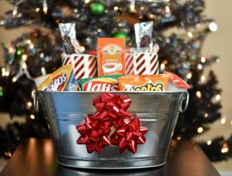 Movie Night Munchie Gift Basket