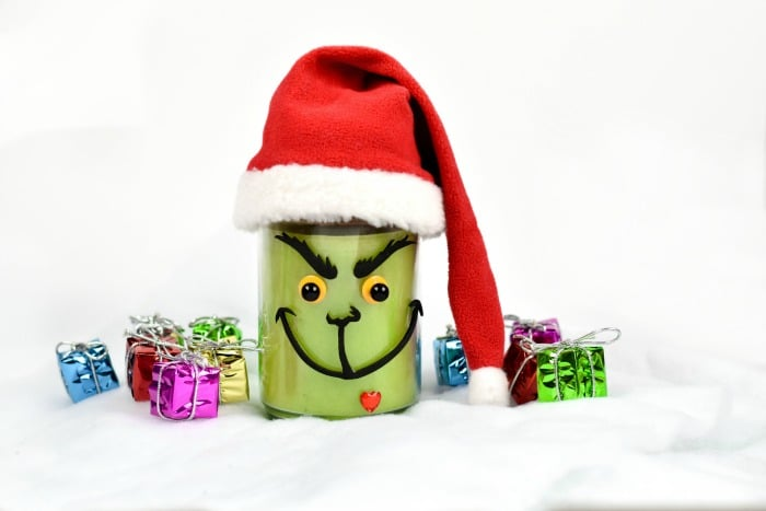 The Grinch Candle