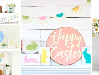 20 Exquisite Easter Mantel Decorating Ideas