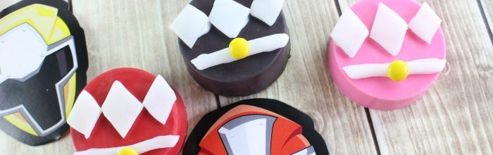 DIY Power Rangers Oreos