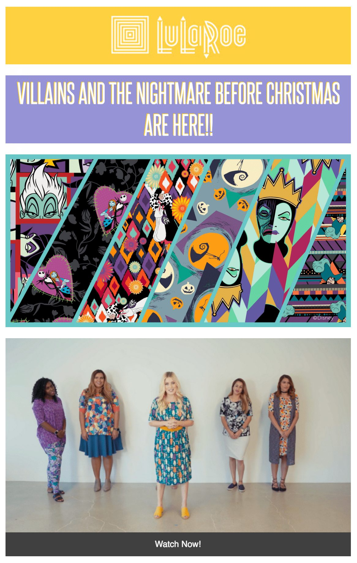 530d4a1614ad7b ... LuLaRoe officially released information to the launch of their LuLaRoe  for Disney collection featuring Villains and The Nightmare Before Christmas  and ...