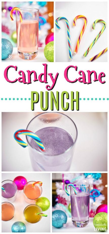 Candy Cane Punch #candycane #punch #christmaspunch #candycanepunch #christmasrecipes