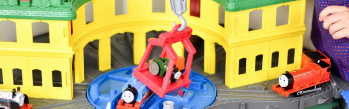 Thomas & Friends Super Station Toy Review