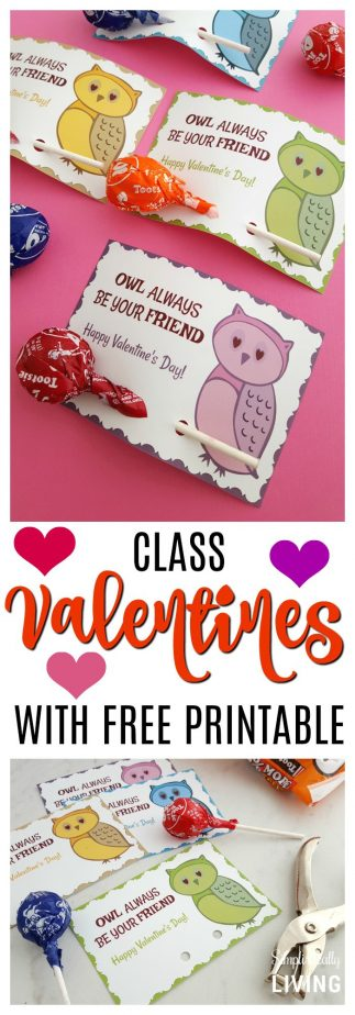 U201cOwl Always Be Your Friendu201d Valentine Printable