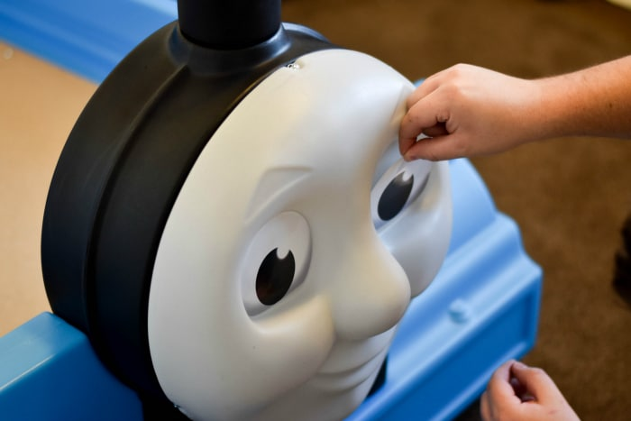 thomas train ride on and track set instructions