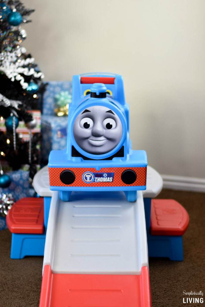 This ride on includes a 9  long track that will help them climb aboard for  a fun ride with their favorite tank engine  It is fun for boys and girls  alike. Thomas The Train Room Ideas Simplistically Living