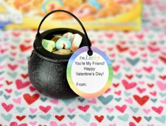 Pot of Cereal Valentine