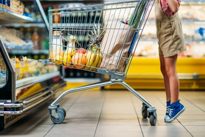 How to Grocery Shop with A Toddler #groceryshopping #toddler #parentingtips #groceryshoppingwithatoddler #howto