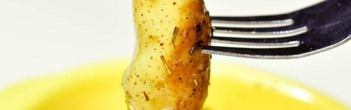 Instant Pot Roasted Fingerling Potatoes