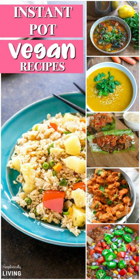 Instant Pot Vegan Recipes  #instantpot #instantpotrecipes #veganrecipes #instantpotvegan