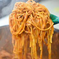 Lean Instant Pot Spaghetti