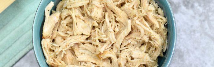 Instant Pot Shredded Chicken Breasts (Zero Weight Watchers Points)