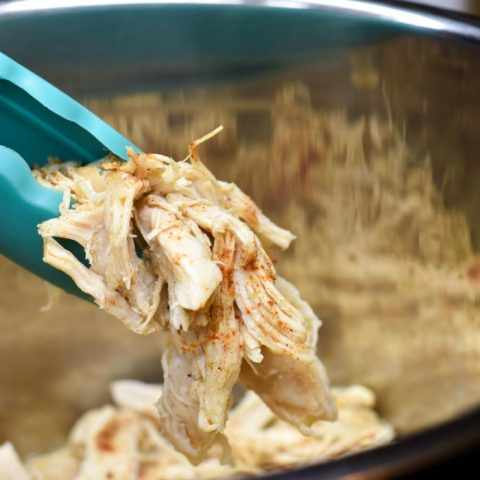 Instant Pot Shredded Chicken Breasts (Zero Weight Watchers Points)