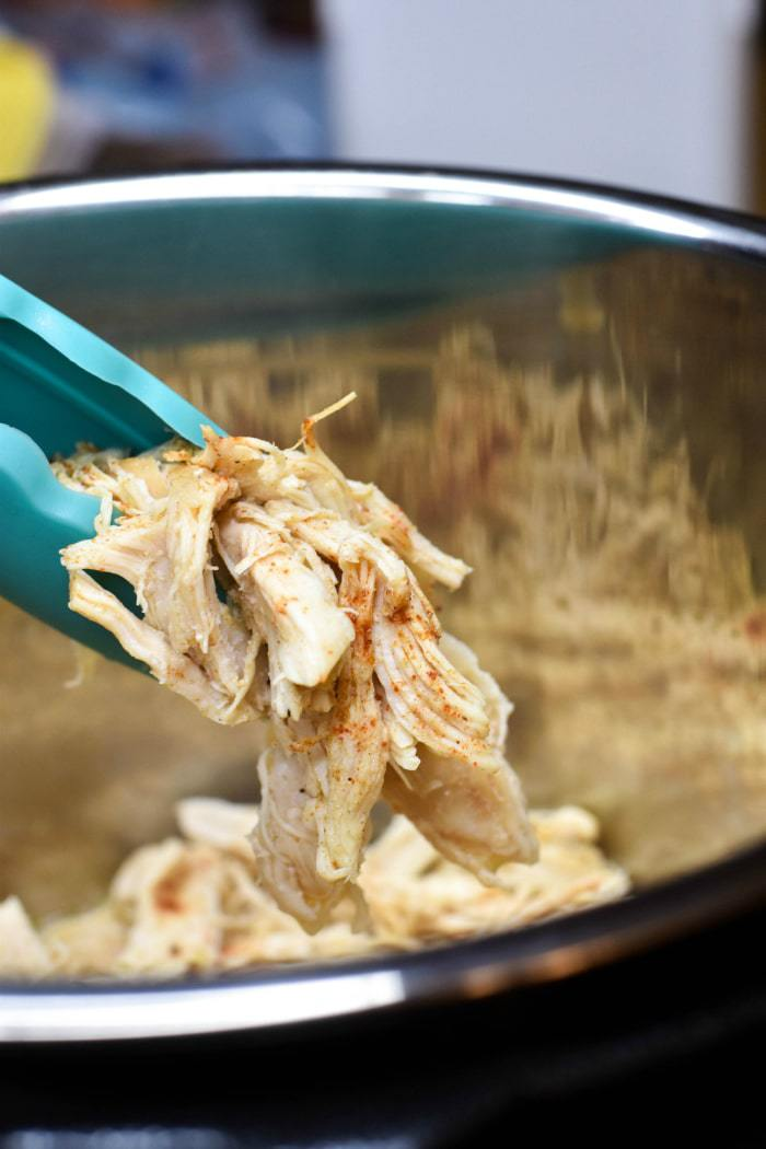 Instant Pot Shredded Chicken Breasts (Zero Weight Watchers Points) #chicken #shreddedchicken #zeropoints #weightwatcherspoints #instantpot #instantpotchicken