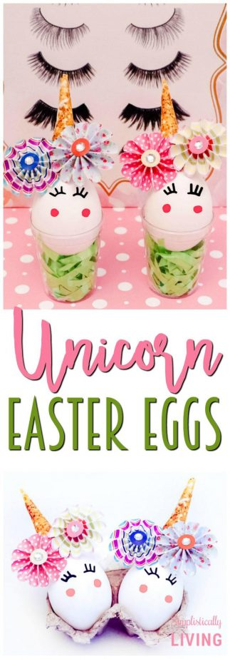 Unicorn Easter Eggs #unicorn #eastereggs #unicorneggs #unicornparty #unicorncrafts