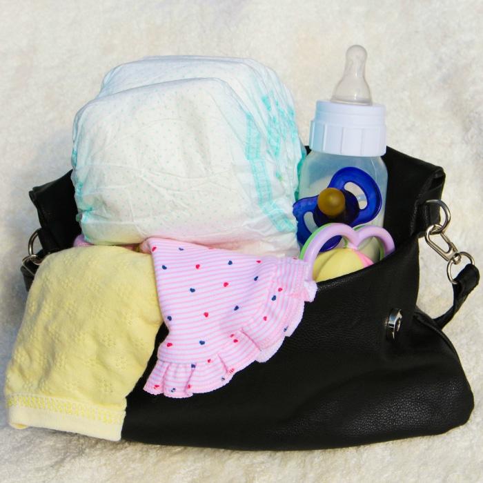 Baby Overnight Basket #baby #babyovernight #overnightbasket #babysfirst #babyproducts