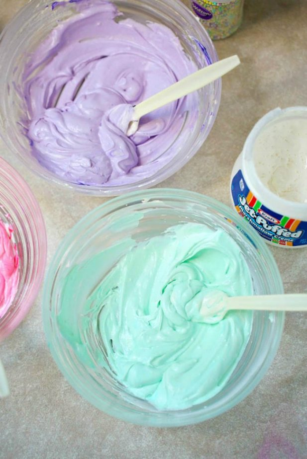 Unicorn Dip #unicorn #unicorndip #unicornfood #magicaldip #diplikemagic #unicornparty