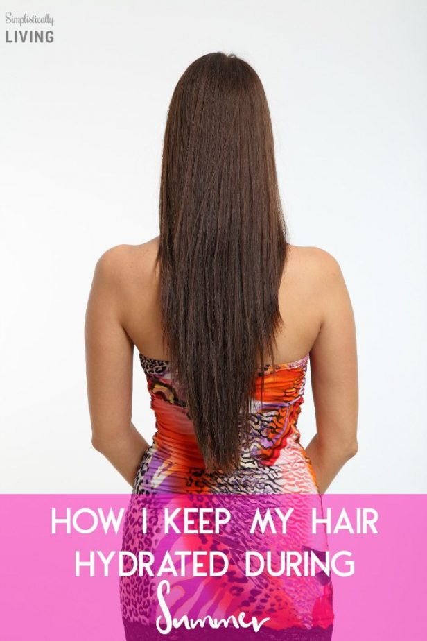 How I Keep My Hair Hydrated In The Summer #hair #summerhair #dryhair #damagedhair