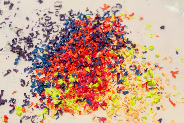 Crayon Shavings for Slime