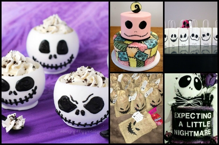 Nightmare Before Christmas Baby Shower Ideas Perfect For The