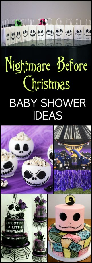 Nightmare Before Christmas Baby Shower Ideas | Perfect for the ...