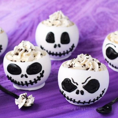 jack skellington candy cups