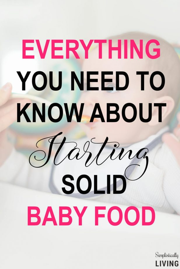 Everything You Need to Know About Starting Solid Baby Food