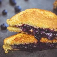 Blueberry Grilled Cheese Strangewich