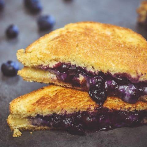 Blueberry Grilled Cheese Strangewich