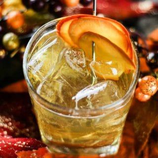 Bourbon Pumpkin Cake Cocktail