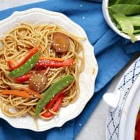 Crock Pot Lo Mein