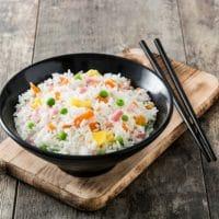 Easy Homemade Ham Fried Rice