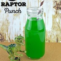 Jurassic World Inspired Raptor Punch