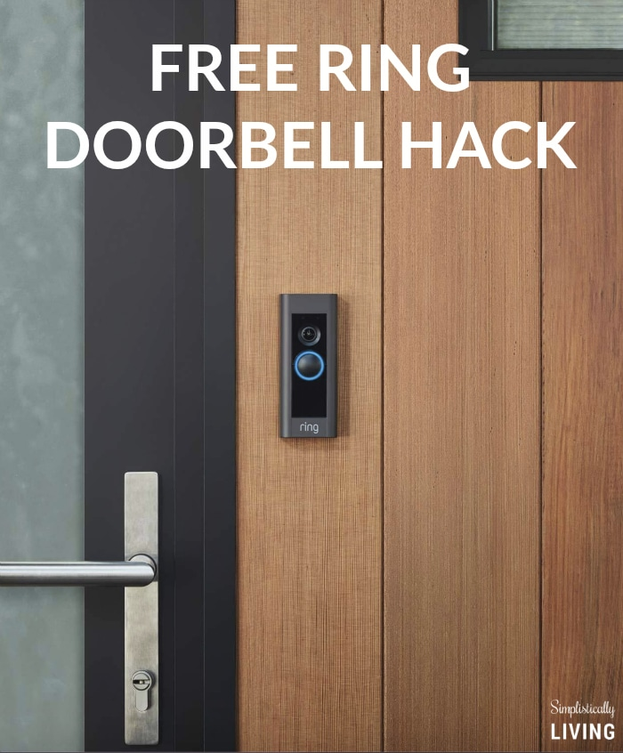 People are Freaking Out Over This Free Ring Doorbell Hack
