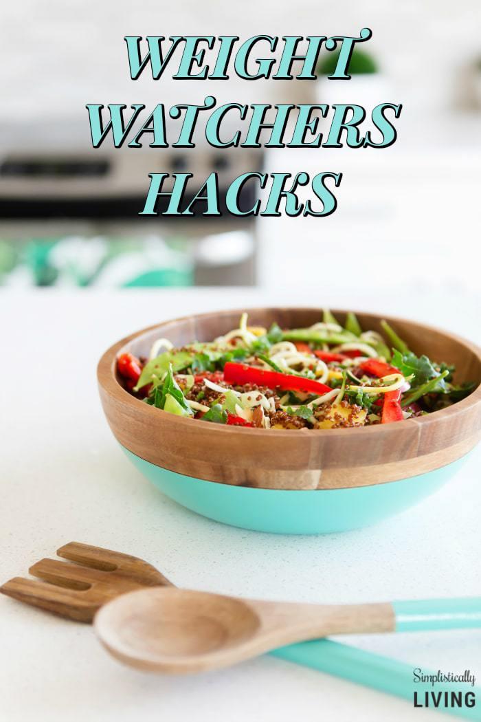 weight watchers hacks