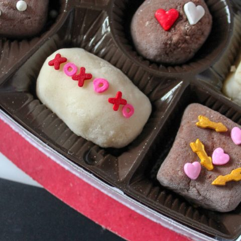 Box of Chocolates Playdough