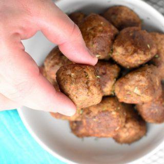 Keto Turkey Meatballs